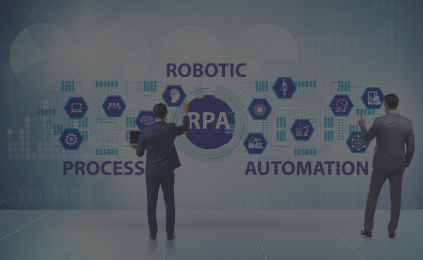 Concept of RPA - robotic process automation